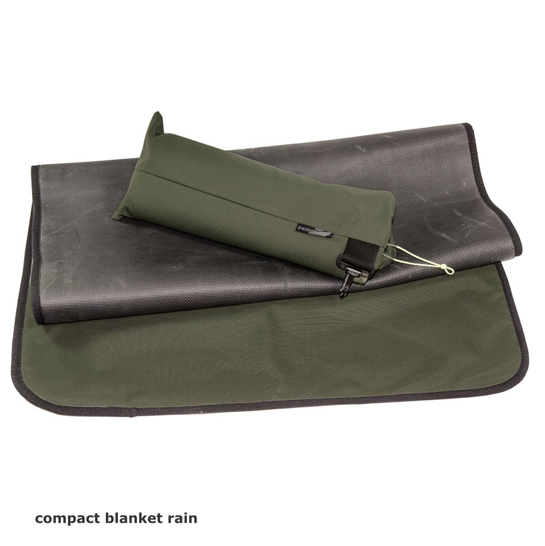 compact blanket rain